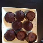 チョコカップケーキと ガトーショコラ